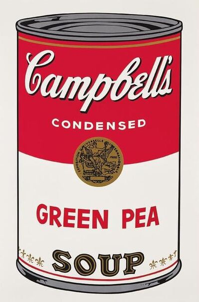 Andy Warhol, 'Green Pea Campbell's Soup', 1968