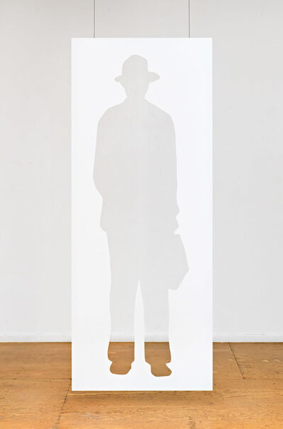 Jonathan Borofsky, 'Man with a Briefcase', 2012