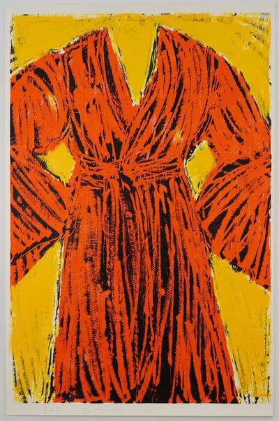 Jim Dine, 'Chrome Yellow Robe', 2013
