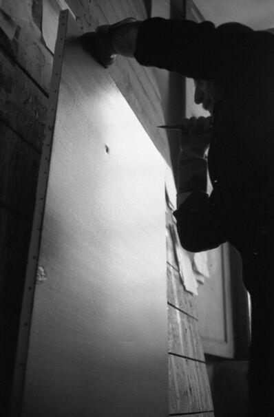 Ugo Mulas, 'Lucio Fontana, Il Sole, Milano (1)', 1962-2019