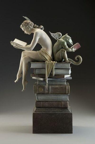 Michael Parkes, 'Ex Libris (one third life size) ', 2014