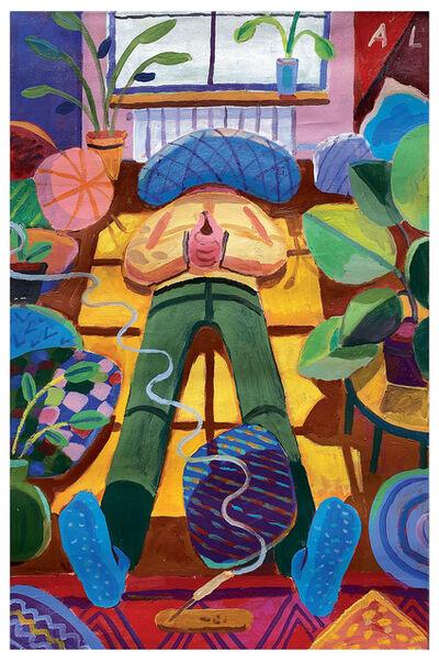 Andrés Lozano, 'Home Alone', 2020