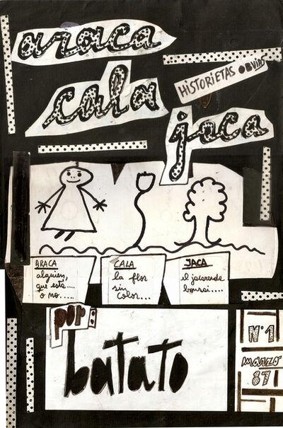 """Batato Barea, ' """"Historietas Obvias"""" n ° 1, """"Araca, Cala, Jaca""""', 1987"""