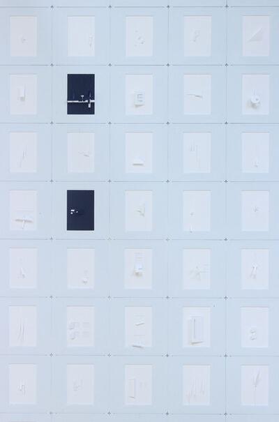 Marco Maggi, 'Letterist (Slide Typewriter 2 Points)', 2019