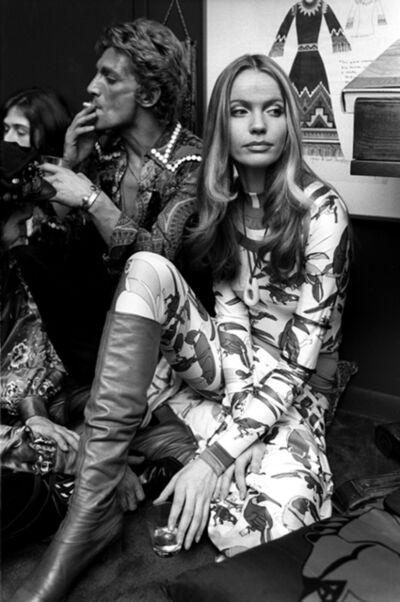 Harry Benson, 'Veruschka and Giorgio di SantAngelo, New York', 1972