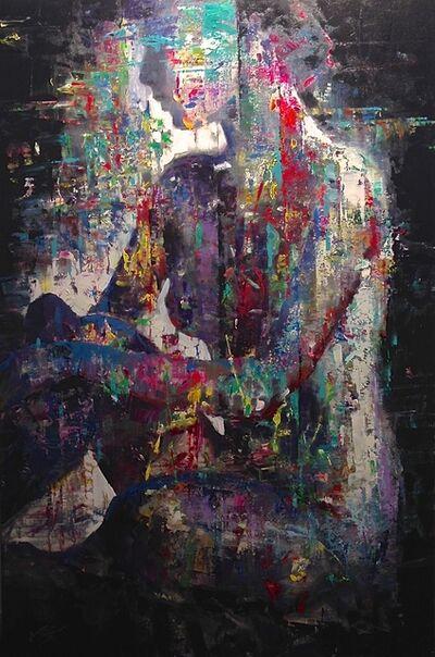 Vadim Dolgov, 'Seated Nude', 2016