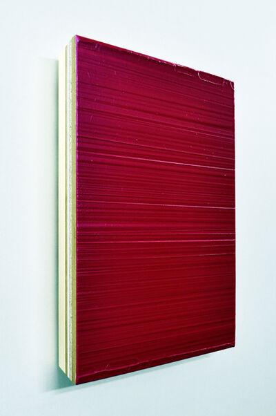 Domenico D'oora, 'Red mercury/silver', 2019