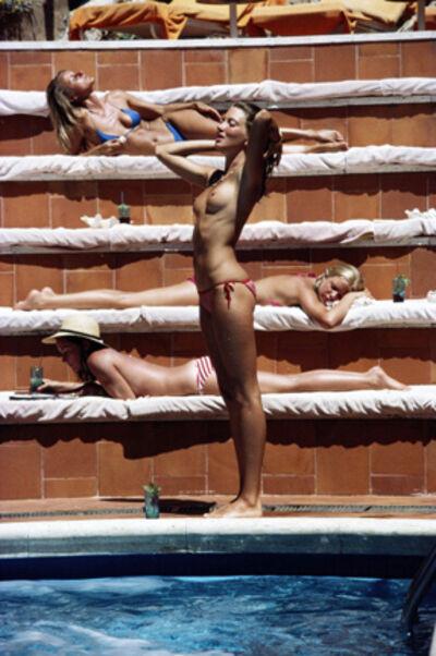 Slim Aarons, 'Catherine Wilke, Capri, 1980', 1980