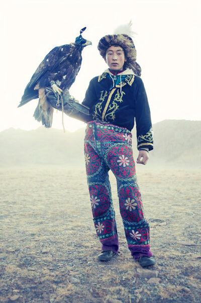 Lyle Owerko, 'Eagle Hunter 7'