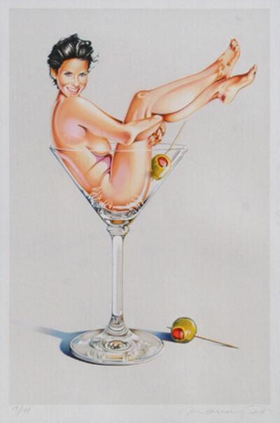 Mel Ramos, 'Miss Martini II', 2004
