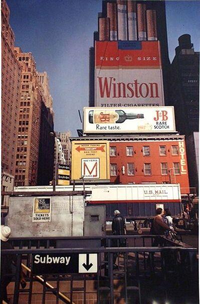 Joel Meyerowitz, '34th St. & 8th Ave., New York City', 1975