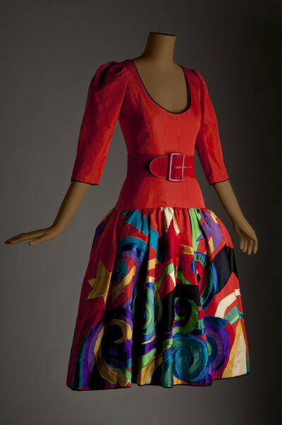 Yves Saint Laurent, 'Picasso evening dress', 1979-1980