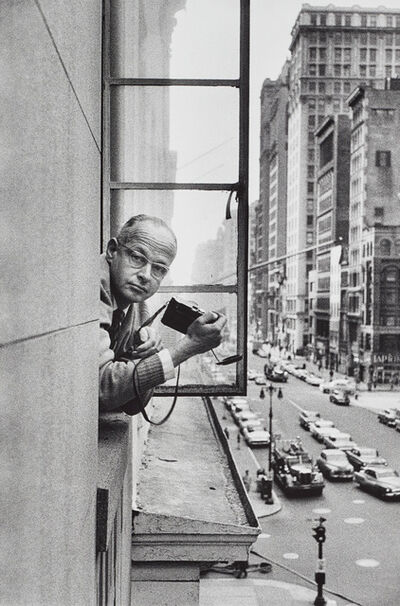 René Burri, 'Henri Cartier-Bresson, New York', 1959