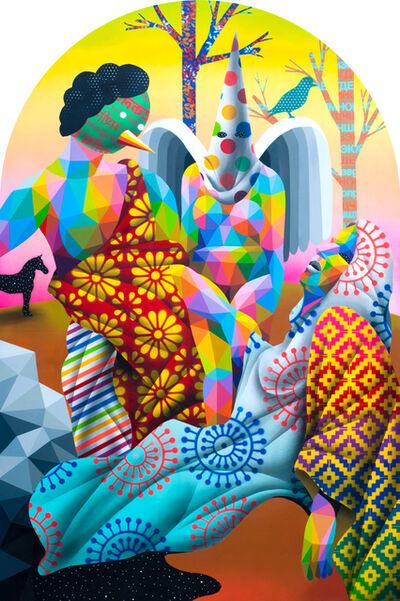 Okuda San Miguel, 'The Extasis', 2018