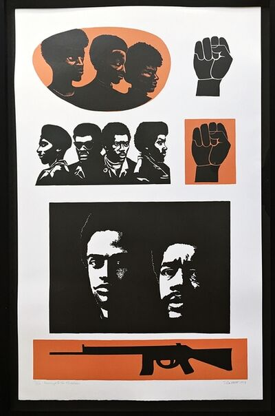 Elizabeth Catlett, 'Homage to the Black Panthers', 1993