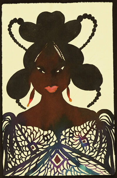 Chris Ofili, 'Untitled (Afromuse)', 1995-2005