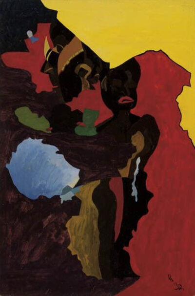 Charles Elmer Harris, 'Composition 28', 1952