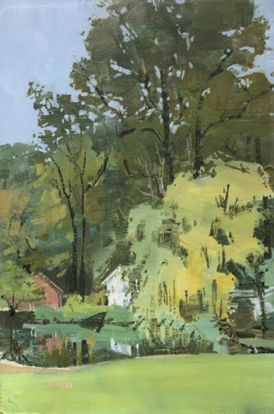 Marilyn Turtz, 'House By the Pond', 2018