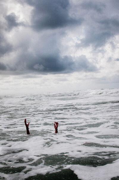 David van Dartel, 'Loes in the North Sea / Loes in de Noordzee', 2012