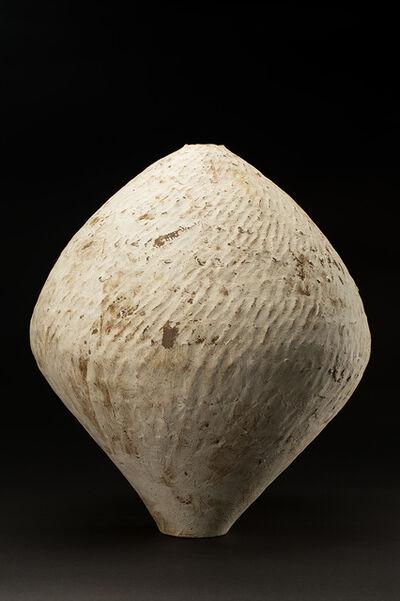 Akihiro Nikaido, 'Flower Vase, Rusty White', 2019