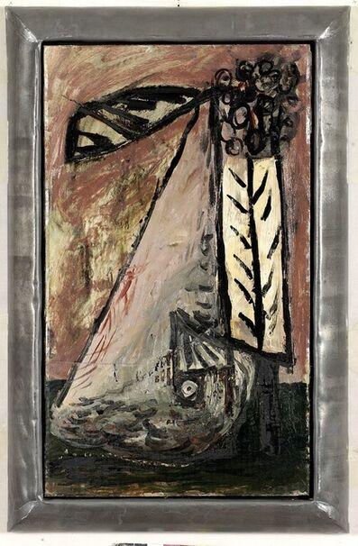 Markus Lüpertz, 'Brennendes Segel', 1989