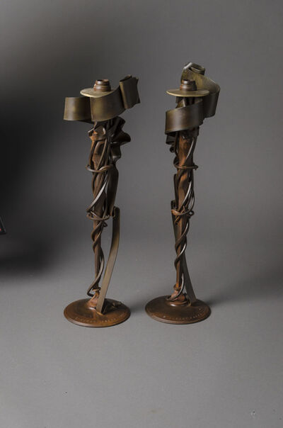 Albert Paley, 'Millenium Candlesticks', 2002