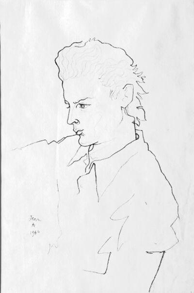 Jean Cocteau, 'Portrait de George Marchal ', 1944