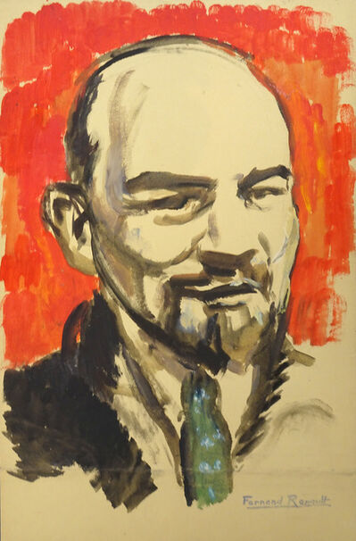 Albert Fernand-Renault, 'Portrait of Lenin ', 20th Century