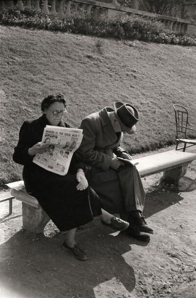 Marc Riboud, ' Luxemburg Gardens in Paris', 1953