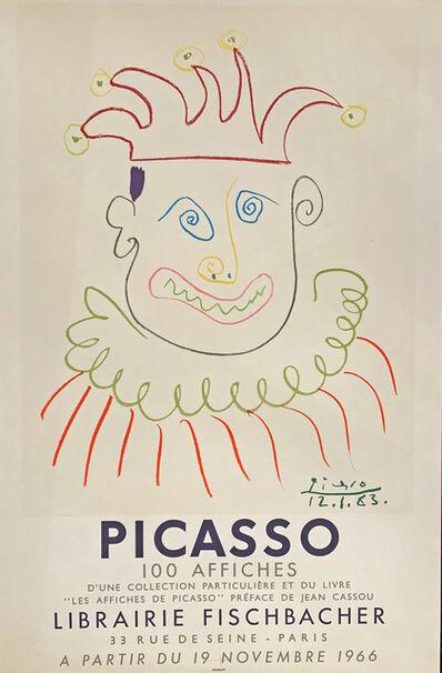 Pablo Picasso, ''Affiche pour la Librairie Fischbachter Paris' ', 1966