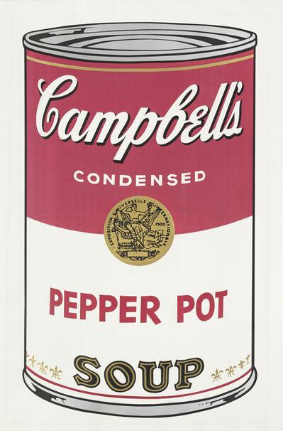 Andy Warhol, 'Pepper Pot from Campbell's Soup I (Feldman & Schellmann II.51)', 1968