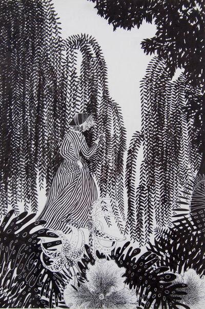 Lesbia Thorpe, 'The Striped Dress', 0000
