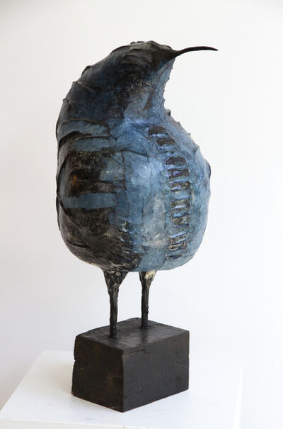 Michel Flamme, 'Azzuroventrus Dubitans', 2019