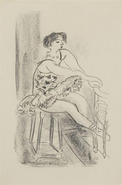 Henri Matisse, 'Danseuse assise (D. 478)', 1925-26