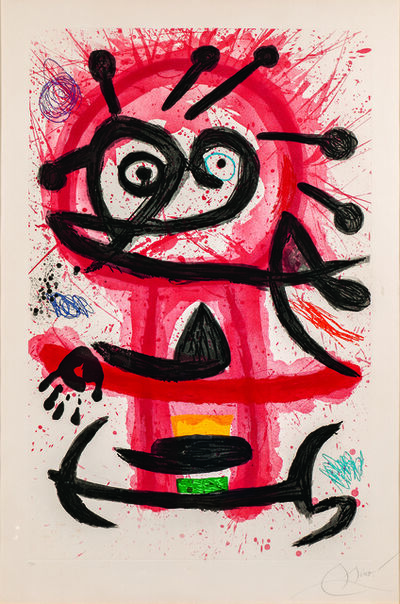 Joan Miró, 'Danseuse Créole', 1978