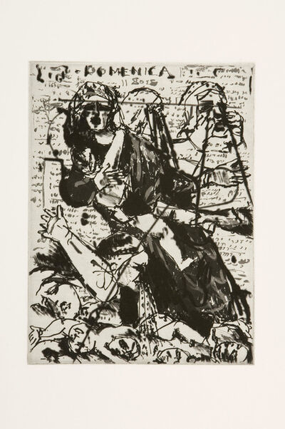 William Kentridge, 'L'Inesorabile Avanzata: Massacre of the Innocents', 2007