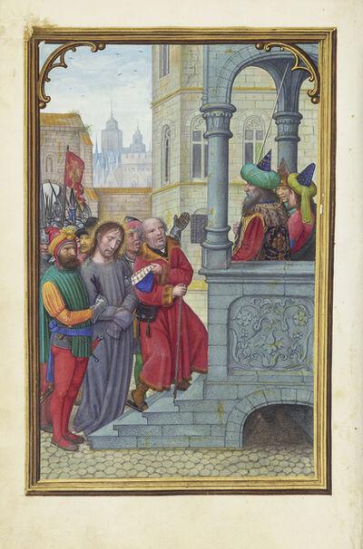 Simon Bening, 'Christ before Pilate', 1525-1530