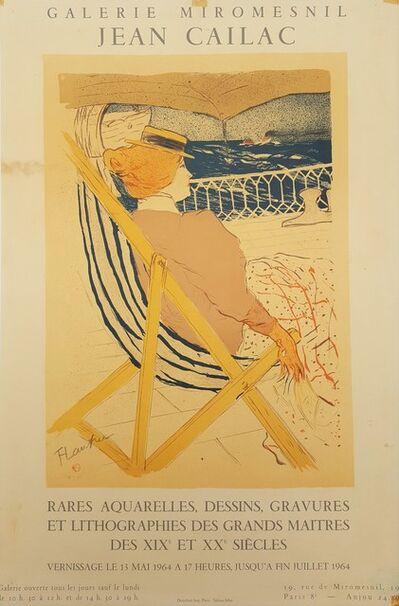 Henri de Toulouse-Lautrec, 'Galerie Miromesnil Jean Cailac (Promenade en Yacht)', 1964