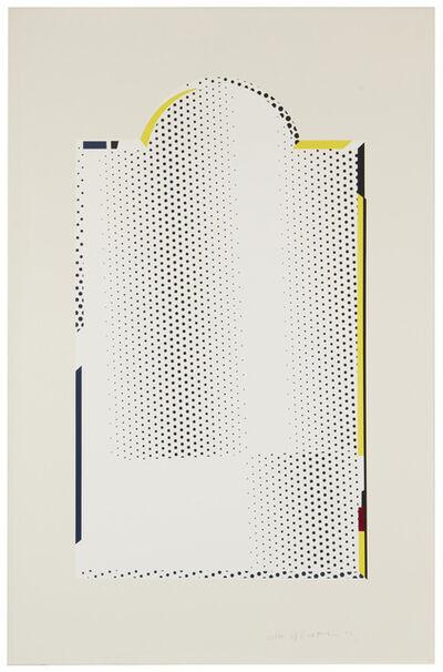 """Roy Lichtenstein, '""""Mirror #7"""" from the Mirror Series', 1972"""