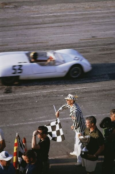 Slim Aarons, 'Checkered Flag', 1963