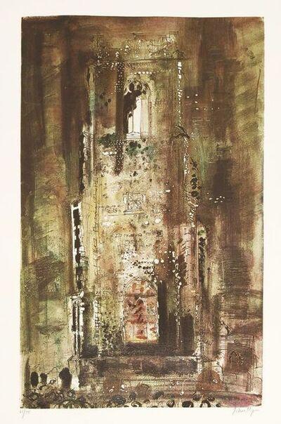 John Piper, 'Corton Church, Suffolk (Levinson 203)', 1971