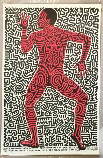 Keith Haring, 'Keith Haring Into 84. Tony Shafrazi Gallery, Dec 03', 1984