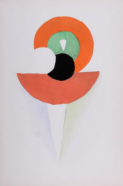 Sonia Delaunay, 'Costumes', 1969