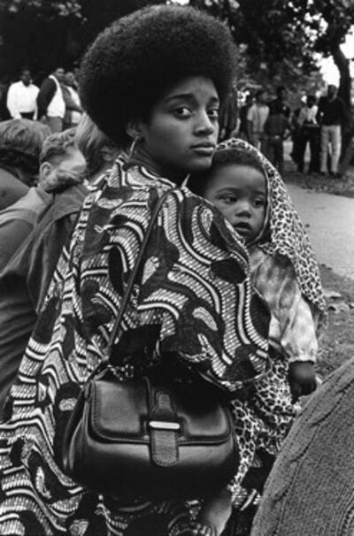 Ruth-Marion Baruch, 'Mother and child, De Fremery Park, Oakland, CA', 1968