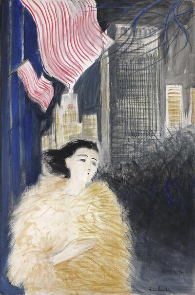 Andre Brasilier, 'Soir à New York', 1994