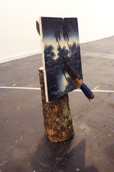 Marco Montiel-Soto, 'Muerte en la tierra tropical azul', 2015