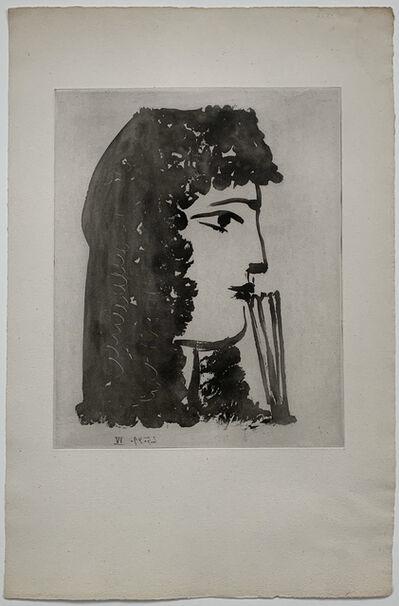Pablo Picasso, 'Carmen, de profil', 2.05.1949