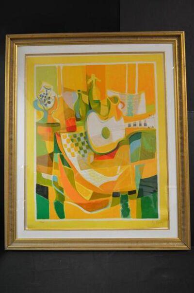 Marcel Mouly, 'La Grande Guitare Blanche', 1992