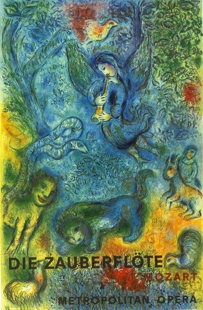 Marc Chagall, 'The Magic Flute (Die Zauberflote)', 1973