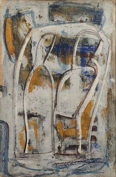 Mario Sironi, 'Composizione con due figure', mid 50s